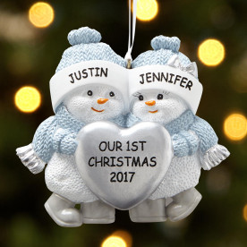 Custom Decor & Gift Ideas For Your First Married Christmas Together