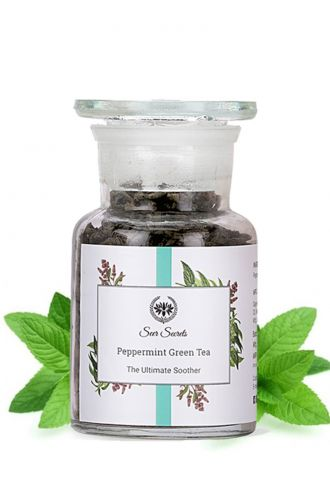 Seer Secrets Peppermint Green Tea