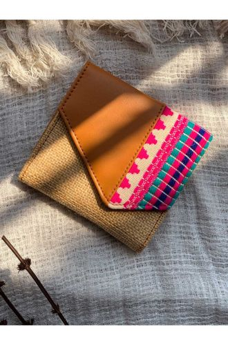 Mini handcrafted Card Wallet