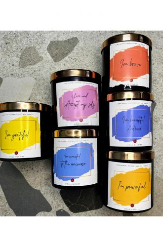 The Affirmation Candles