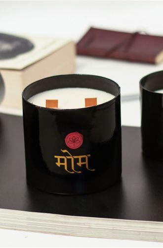 The Wooden Wick Candle