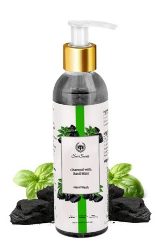 Seer Secrets Charcoal with Basil Mint Hand Wash