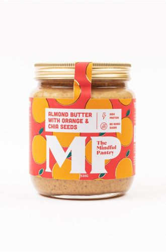 Almond Butter with Orange and Chia Seeds- Big Jar
