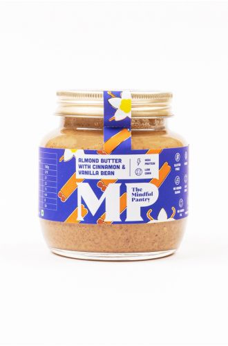 Almond Butter with Cinnamon and Vanilla Bean- Small Jar