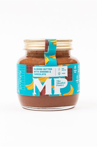 Almond Butter with Banana and Chocolate- Small Jar