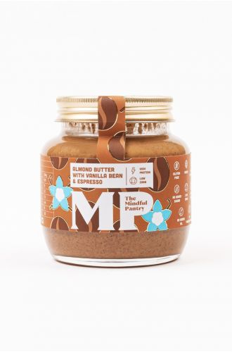 Almond Butter with Vanilla Bean and Espresso- Small Jar