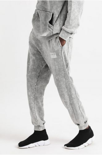 ABG Charcoal Grey BEING MY SELF Oversized Jogger