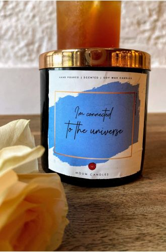 The Affirmation Candles - I am connected to the universe