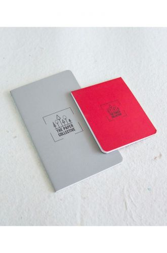 Pocket Notebooks - Grey (Tall) + Red (Small)