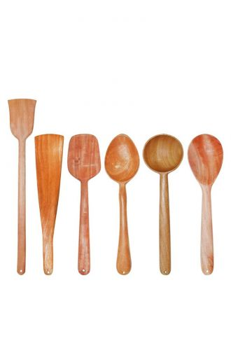 Wooden Cooking Essentials Pack Of 6