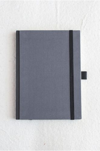 Bookcloth Notebooks Series - River Birch | Unruled- A5 & B5 SIZE