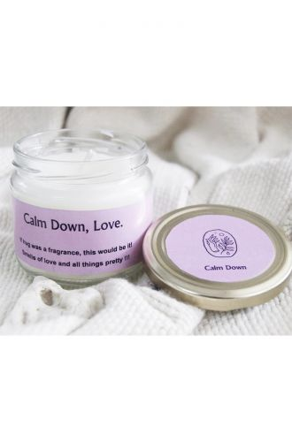 Calm Down Scented Candle