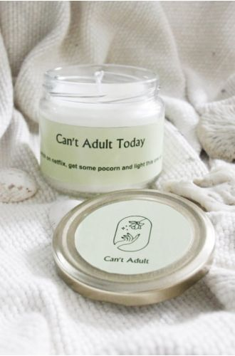 Cant Adult Today Scented Candle