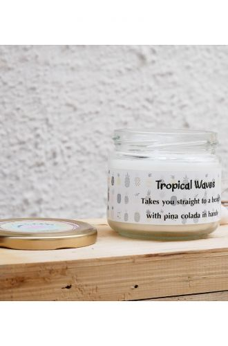 Tropical Wave Scented Candle