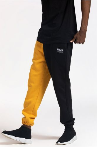 ABG Black-Yellow Two-Tone BEING MY SELF Jogger