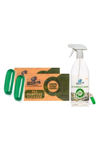 Disinfectant All Purpose Cleaner (2 refills with bottle)