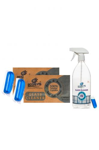 Glass Cleaner 3 litres (2 refills with bottle)
