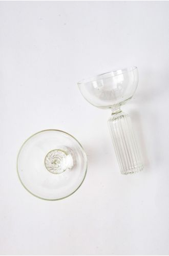 Table Manners Crystal Stem Glass