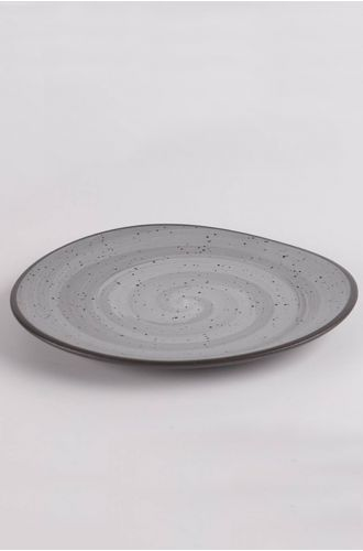 Table Manners Black Hydra Dinner Plate