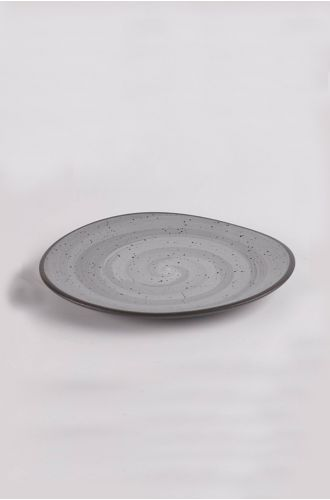 Table Manners Black Hydra Quarter Plate