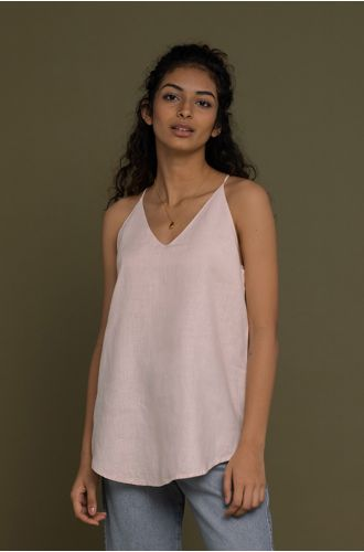 Endless Sunday Top In Ice Pink