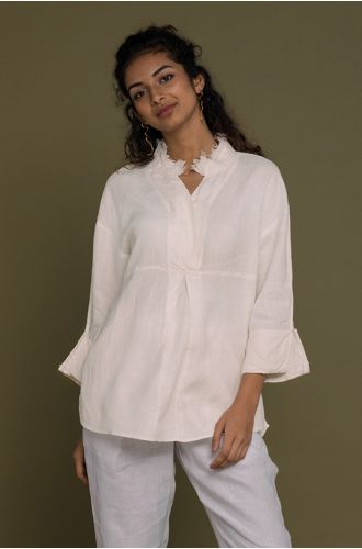 Women Are From Venus Shirt In Shell Off-White