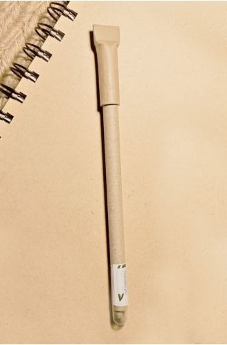 5 Plantable Eco Pens - 100% Recycled Paper