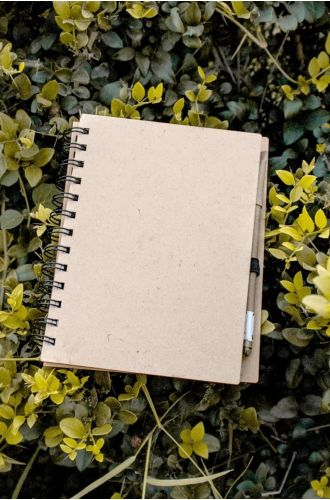 Notebook With Plantable Eco Pen