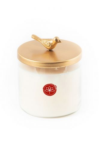 The Bird Lid Candle