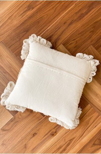Amber Shaggy Pillow Cover