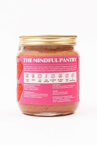 Almond Butter with Strawberry and Chia Seeds- Big Jar