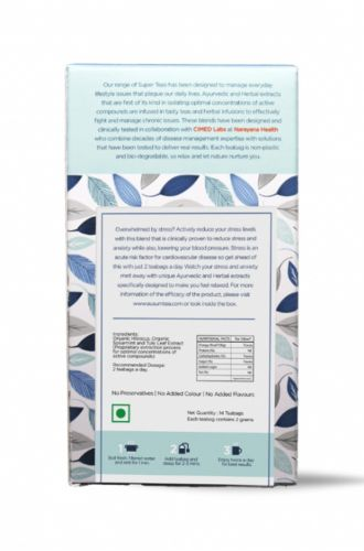 NoStress for Stress Reduction - Clinically Proven Herbal Tea
