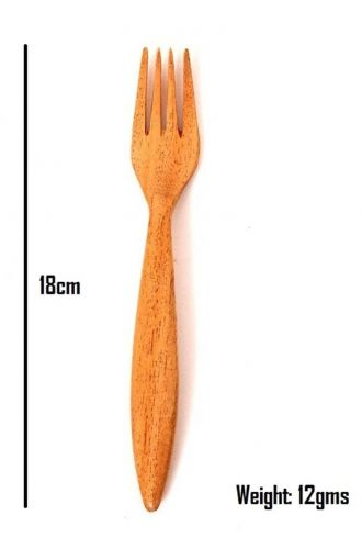 Wooden Cutlery Set Of 2