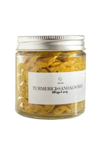 Turmeric and Sandalwood Whipped Soap
