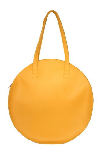 Fizza Brown Yellow Full Moon Totes