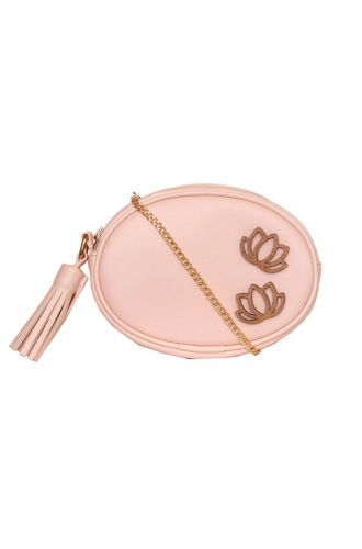Fizza Lotus in Pink Waist Pouch