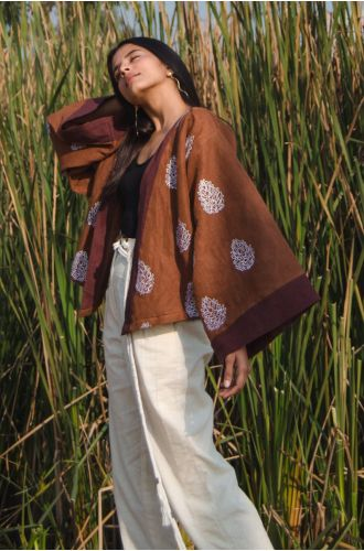 Out In The Woods Kimono