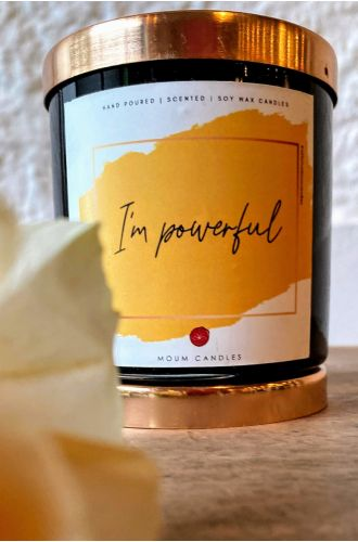 The Affirmation Candles- I Am powerful
