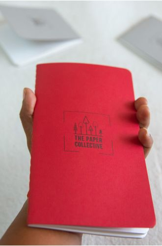 Pocket Notebooks - Red (Tall) + Grey (Small)