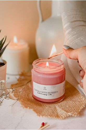 Candle With Benefits 2 in 1 (Massage and Scented) grapefruit