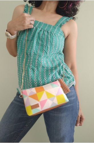 Fizza The Grid Sunglass Pouch or Sling