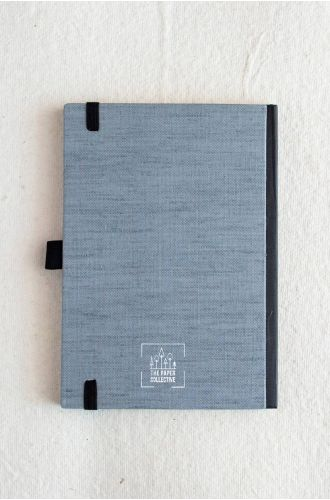 Bookcloth Notebooks Series - Love in a Mist | Unruled- A5 & B5 SIZE