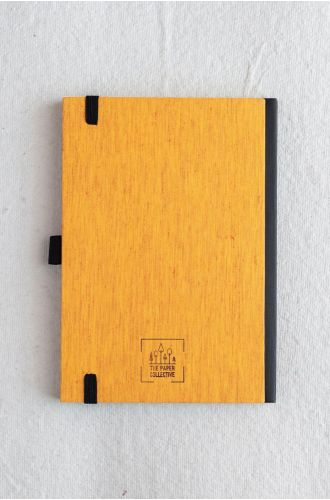 Bookcloth Notebooks Series - Marigold | Unruled- A5 & B5 SIZE