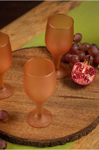 Rochella Frosted Sherry Glasses