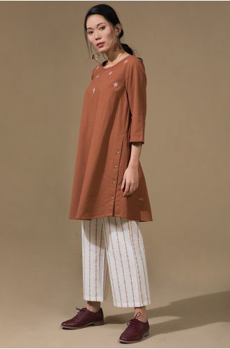 Cinnamon Tunic & Pants Set