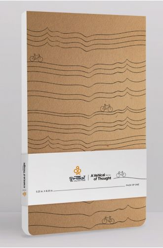 Shoonyaakar A Vehicle of thought Notepad
