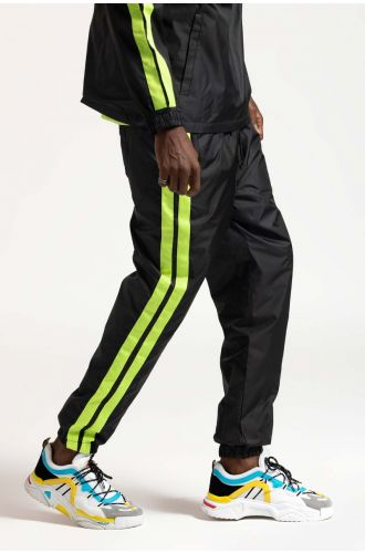 ABG GREY-NEON GREEN WATER REPELLANT LOST LOCALITY JOGGER