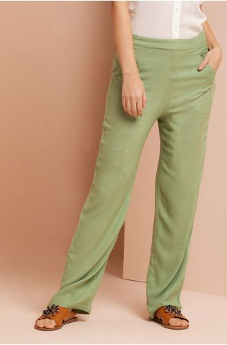 Grazia Green Pants