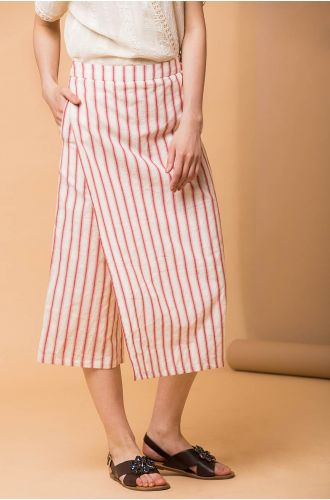 Stripped Story Pants