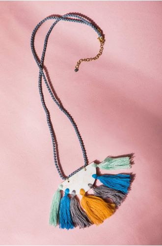 Boho Vibes Tassel Necklace